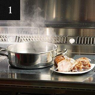 お湯の準備イメージ